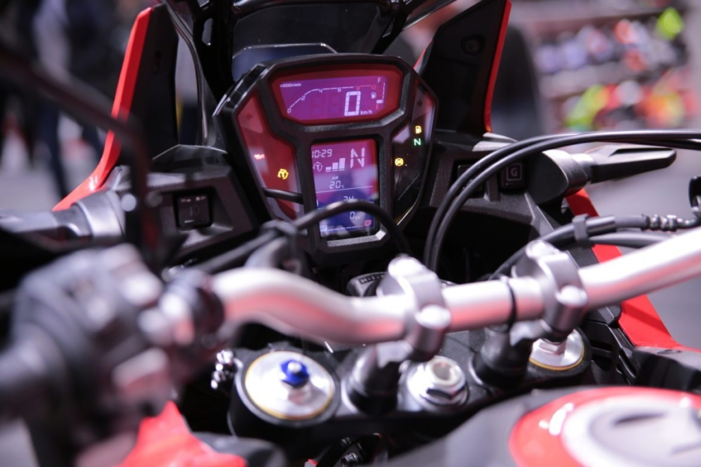 Africa Twin dashboard 2017