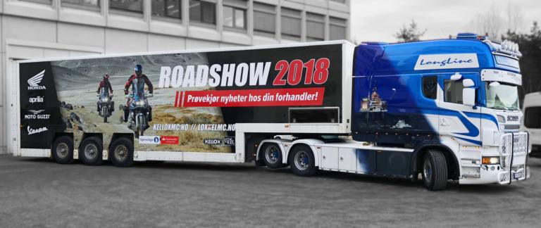 MC Roadshow 2018 - Honda. Aprilia, Moto Guzzi