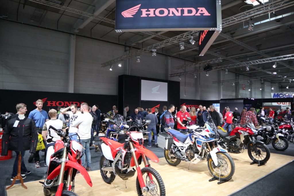 Honda motorsykler på MC-messa 2019