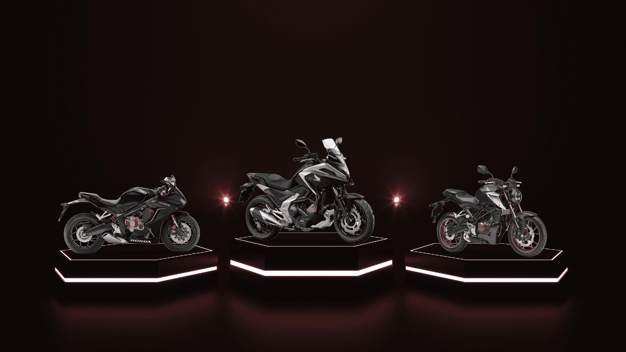 Showtime 2021 Honda MC Norge Motorsykkel