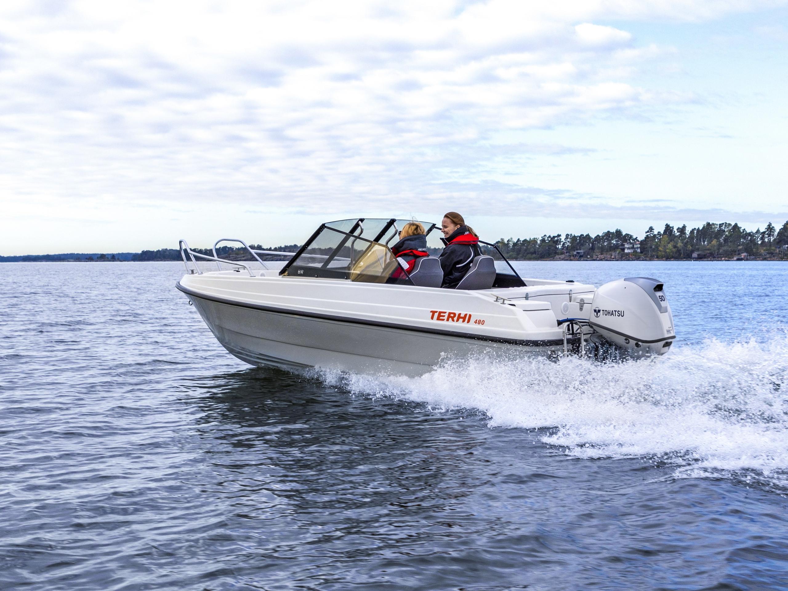 Terhi 480 båt
