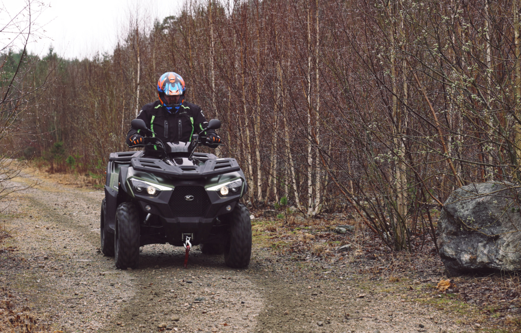 Kymco ATV MXU 550i
