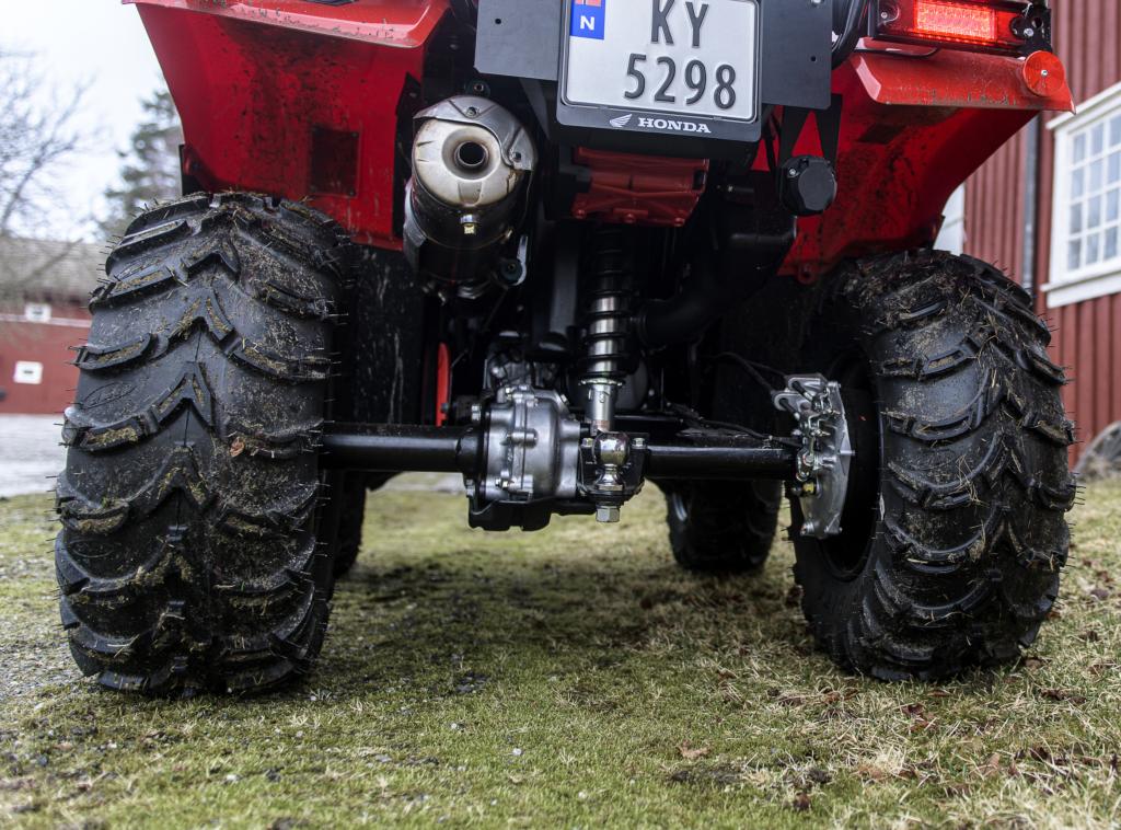 Honda ATV TRX520fe2
