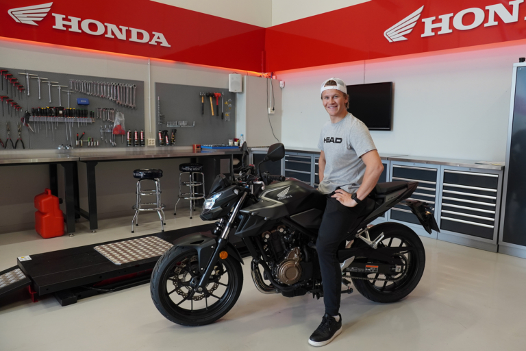 Timon Haugan i Hondagarasjen