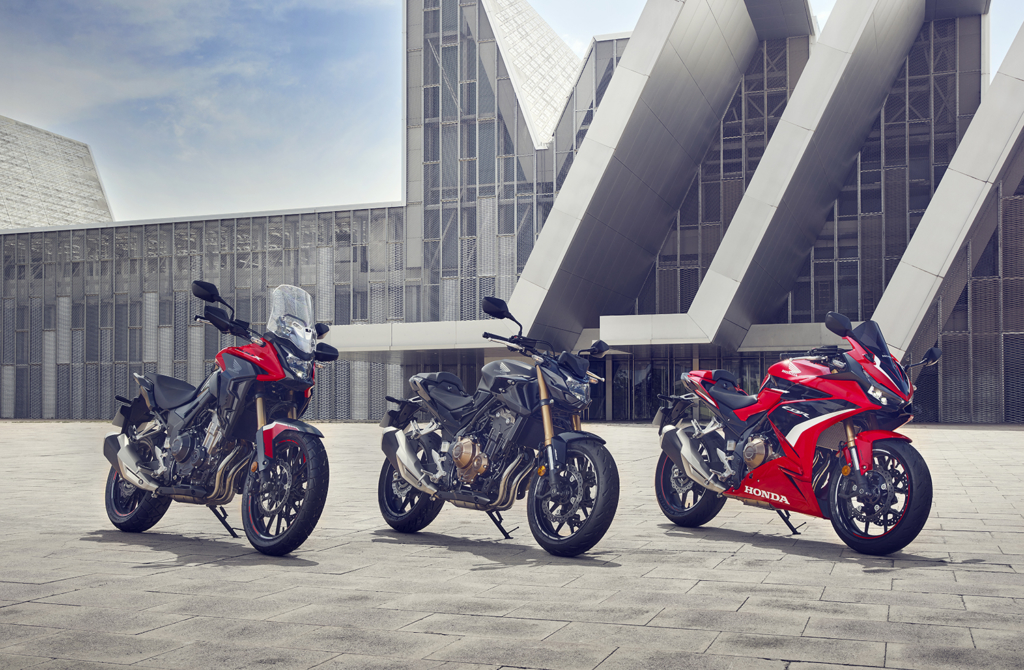 2022 Honda 500-serien