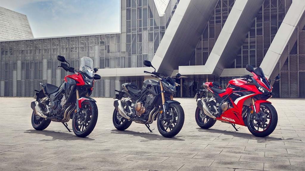 Honda 500-serien med 2022-modeller